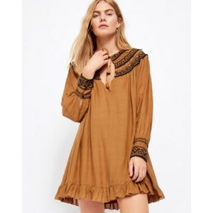 Free People | Erin Embroidered Mini Dress - XL